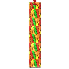 Colorful Wooden Background Pattern Large Book Marks