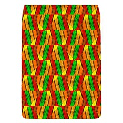 Colorful Wooden Background Pattern Flap Covers (s)