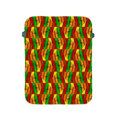 Colorful Wooden Background Pattern Apple iPad 2/3/4 Protective Soft Cases