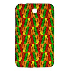 Colorful Wooden Background Pattern Samsung Galaxy Tab 3 (7 ) P3200 Hardshell Case