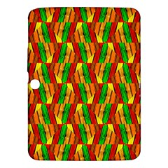 Colorful Wooden Background Pattern Samsung Galaxy Tab 3 (10.1 ) P5200 Hardshell Case