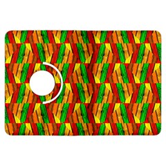 Colorful Wooden Background Pattern Kindle Fire Hdx Flip 360 Case