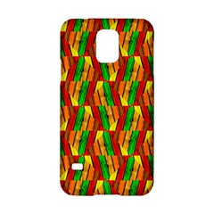 Colorful Wooden Background Pattern Samsung Galaxy S5 Hardshell Case