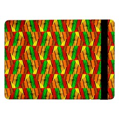Colorful Wooden Background Pattern Samsung Galaxy Tab Pro 12.2  Flip Case