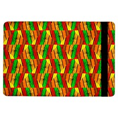 Colorful Wooden Background Pattern Ipad Air Flip