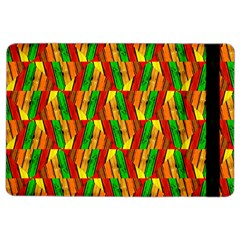 Colorful Wooden Background Pattern iPad Air 2 Flip