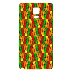 Colorful Wooden Background Pattern Galaxy Note 4 Back Case