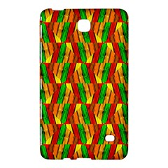 Colorful Wooden Background Pattern Samsung Galaxy Tab 4 (8 ) Hardshell Case