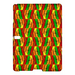 Colorful Wooden Background Pattern Samsung Galaxy Tab S (10.5 ) Hardshell Case