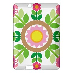 Flower Floral Sunflower Sakura Star Leaf Kindle Fire HDX Hardshell Case