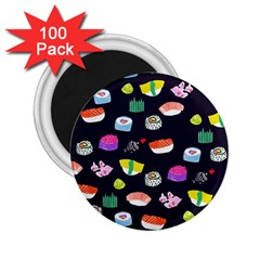 Japanese Food Sushi Fish 2.25  Magnets (100 pack)