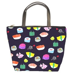 Japanese Food Sushi Fish Bucket Bags
