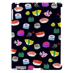 Japanese Food Sushi Fish Apple iPad 3/4 Hardshell Case (Compatible with Smart Cover)