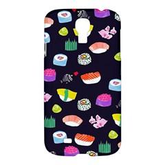 Japanese Food Sushi Fish Samsung Galaxy S4 I9500/I9505 Hardshell Case