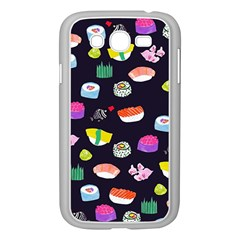 Japanese Food Sushi Fish Samsung Galaxy Grand DUOS I9082 Case (White)