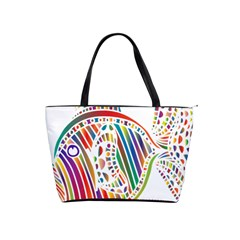 Colorful Fish Animals Rainbow Shoulder Handbags