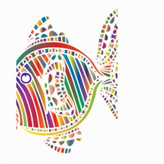 Colorful Fish Animals Rainbow Large Garden Flag (Two Sides)