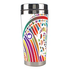 Colorful Fish Animals Rainbow Stainless Steel Travel Tumblers
