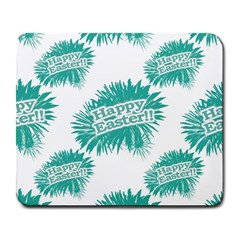 Happy Easter Theme Graphic Large Mousepads