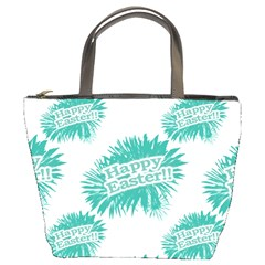 Happy Easter Theme Graphic Bucket Bags