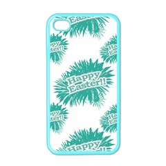 Happy Easter Theme Graphic Apple iPhone 4 Case (Color)