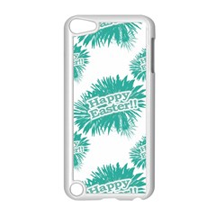 Happy Easter Theme Graphic Apple iPod Touch 5 Case (White)