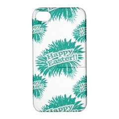 Happy Easter Theme Graphic Apple iPhone 4/4S Hardshell Case with Stand