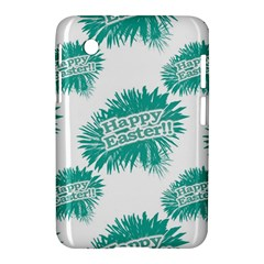 Happy Easter Theme Graphic Samsung Galaxy Tab 2 (7 ) P3100 Hardshell Case