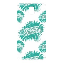 Happy Easter Theme Graphic Samsung Galaxy Note 3 N9005 Hardshell Back Case