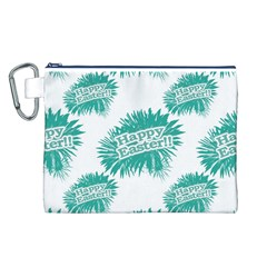 Happy Easter Theme Graphic Canvas Cosmetic Bag (L)