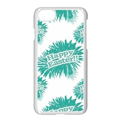 Happy Easter Theme Graphic Apple Iphone 7 Seamless Case (white)