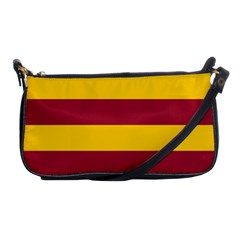 Oswald s Stripes Red Yellow Shoulder Clutch Bags