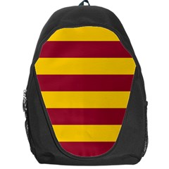 Oswald s Stripes Red Yellow Backpack Bag