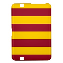 Oswald s Stripes Red Yellow Kindle Fire HD 8.9
