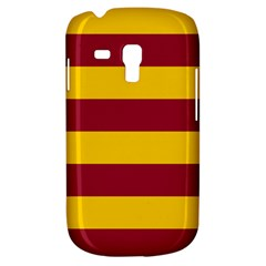 Oswald s Stripes Red Yellow Galaxy S3 Mini