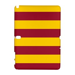 Oswald s Stripes Red Yellow Galaxy Note 1