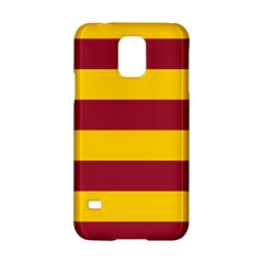 Oswald s Stripes Red Yellow Samsung Galaxy S5 Hardshell Case