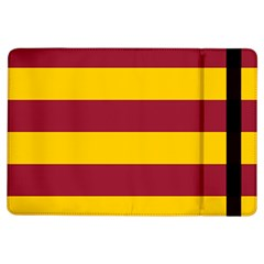 Oswald s Stripes Red Yellow iPad Air Flip