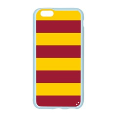 Oswald s Stripes Red Yellow Apple Seamless iPhone 6/6S Case (Color)