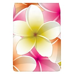 Frangipani Flower Floral White Pink Yellow Flap Covers (S)