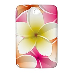 Frangipani Flower Floral White Pink Yellow Samsung Galaxy Note 8.0 N5100 Hardshell Case