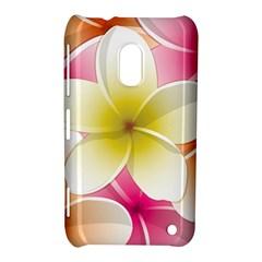 Frangipani Flower Floral White Pink Yellow Nokia Lumia 620