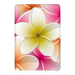Frangipani Flower Floral White Pink Yellow Samsung Galaxy Tab Pro 10.1 Hardshell Case