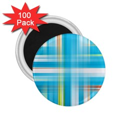 Lines Blue Stripes 2.25  Magnets (100 pack)