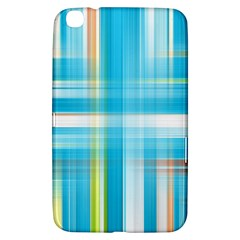 Lines Blue Stripes Samsung Galaxy Tab 3 (8 ) T3100 Hardshell Case