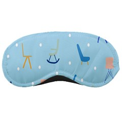 Seat Blue Polka Dot Sleeping Masks
