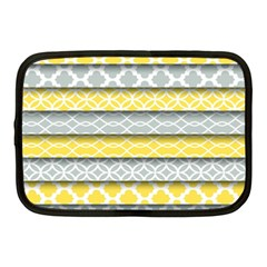 Paper Yellow Grey Digital Netbook Case (Medium)