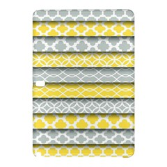 Paper Yellow Grey Digital Samsung Galaxy Tab Pro 12.2 Hardshell Case