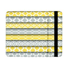 Paper Yellow Grey Digital Samsung Galaxy Tab Pro 8.4  Flip Case