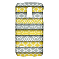 Paper Yellow Grey Digital Galaxy S5 Mini